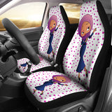 Hijab Betty Car Seat Cover | Black Betty Boop