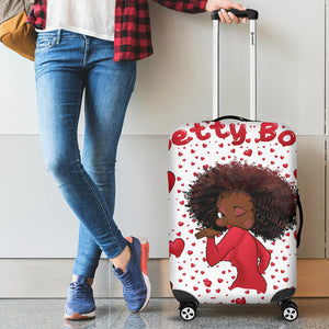 Luggage Kissing Betty | Black Betty Boop