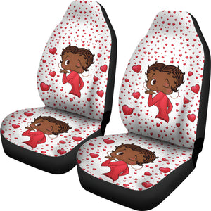 Kissing Betty Car Seat Covers Express