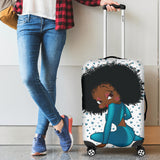 Luggage Cover Sitting Betty | Black Betty Boop
