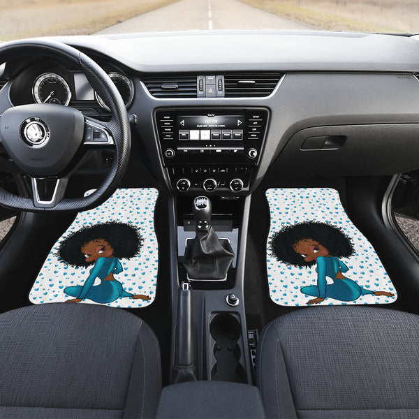 Sitting Betty Car Floor Mat Express | Black Betty Boop