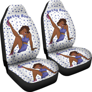 Galaxy Car Seat Covers | Black Betty Boop