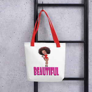 Beautiful Betty Tote bag | Black Betty Boop