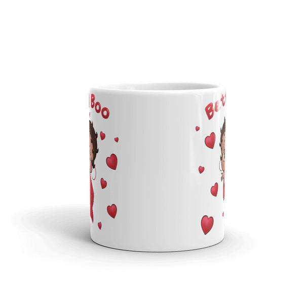 Winking Kissing Betty Mug | Black Betty Boop