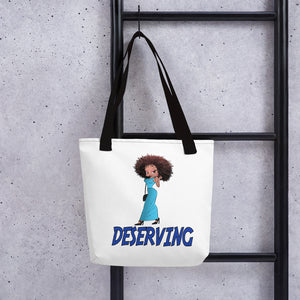 Deserving Betty Tote bag | Black Betty Boop
