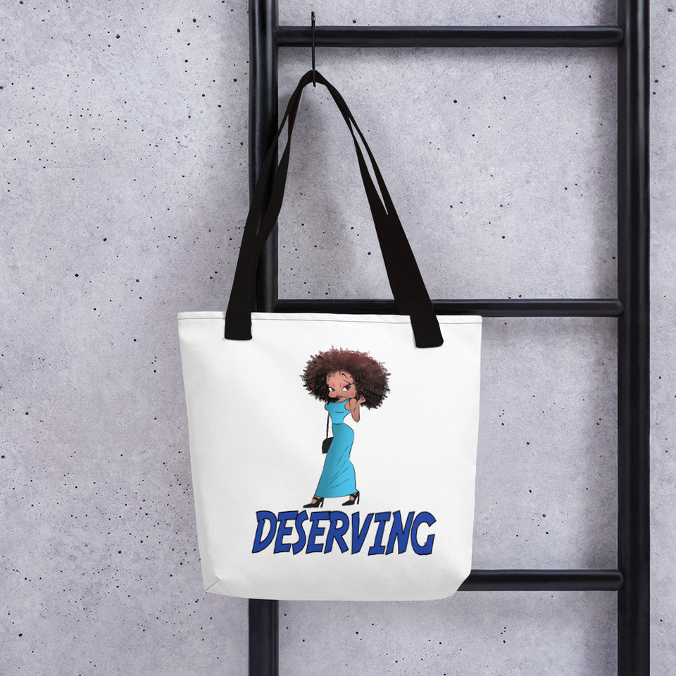 Deserving Betty Tote bag