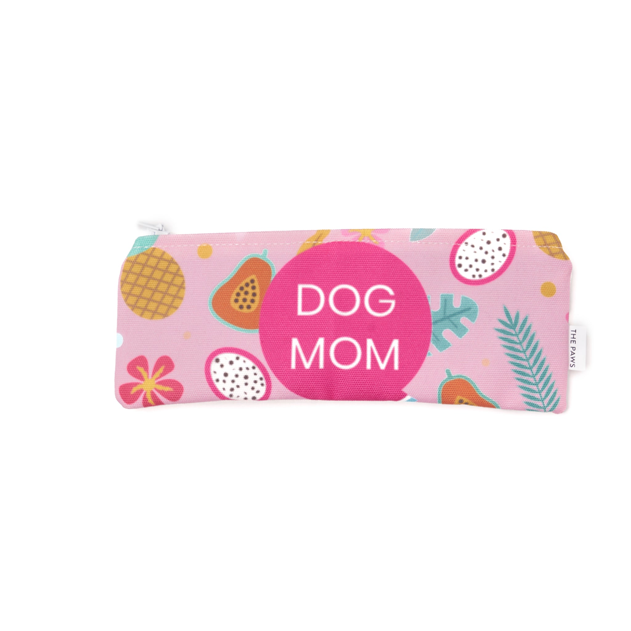 Zip Pouch - Tropical Dog Mom