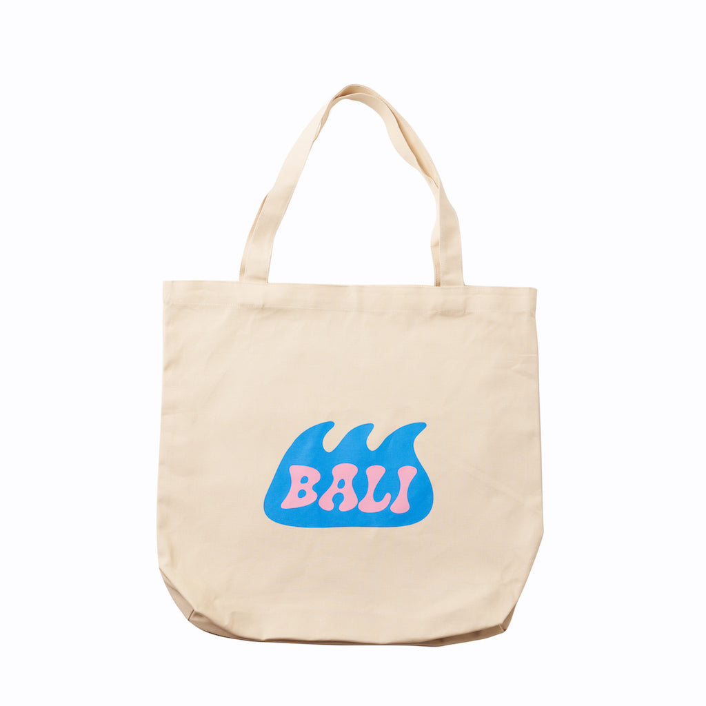 Waves of Bali Tote