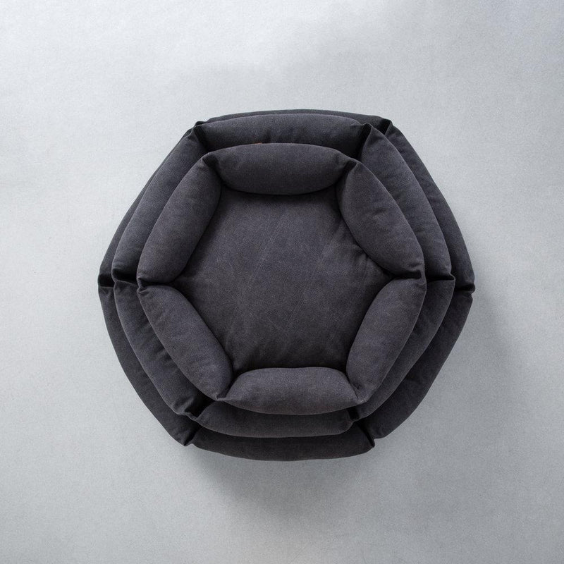Hex Cushion - Shadow