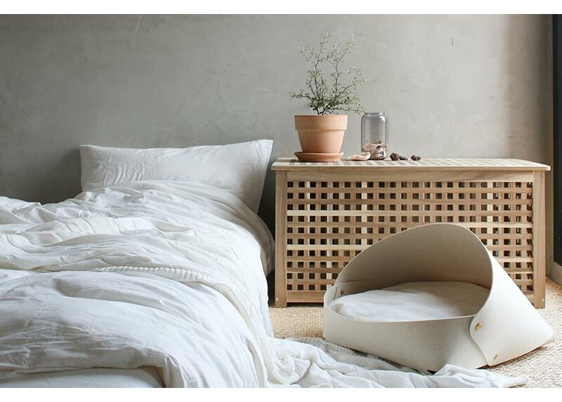 Marron Bed - Oatmeal