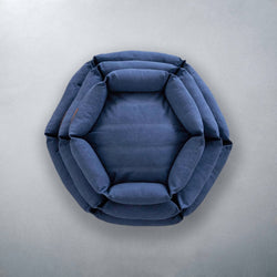 Hex Cushion - Ocean