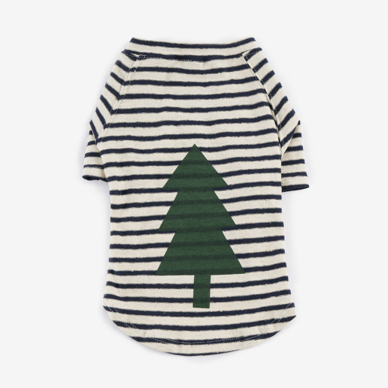Graphic Nautical T-Shirt - Tree