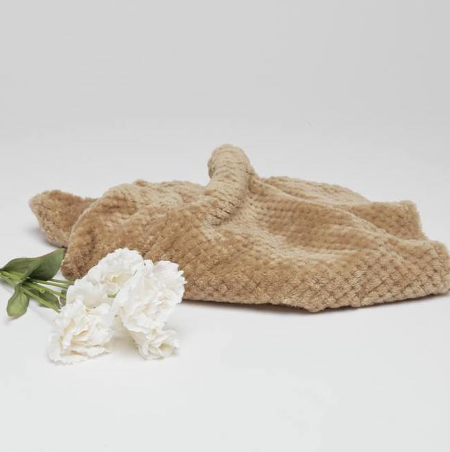 Soft Fleece Blanket - Sand