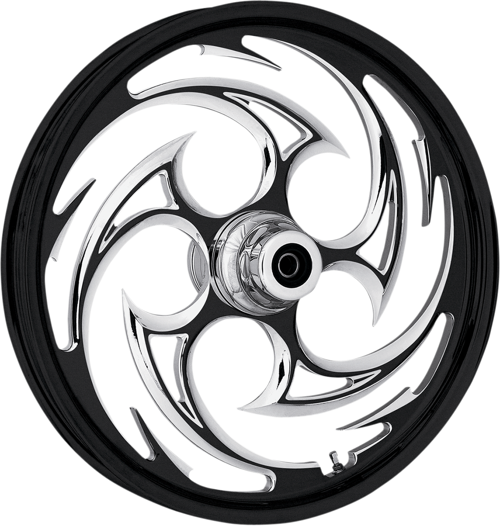 "RC COMPONENTS Front Wheel - Savage - Eclipse - 16"" x 3.5"" - 00-06 FLST One-Piece Forged Aluminum Wheel — Savage"