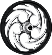 "Load image into Gallery viewer, RC COMPONENTS Front Wheel - Savage - Single Disc - 21"" x 3.5"" - 08+ FLT One-Piece Forged Aluminum Wheel — Savage"