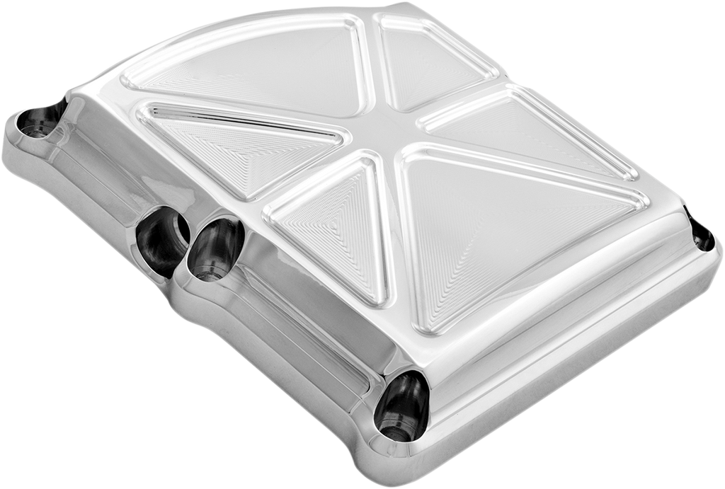 PERFORMANCE MACHINE (PM) Transmission Cover - Chrome - Formula Transmission Top Cover