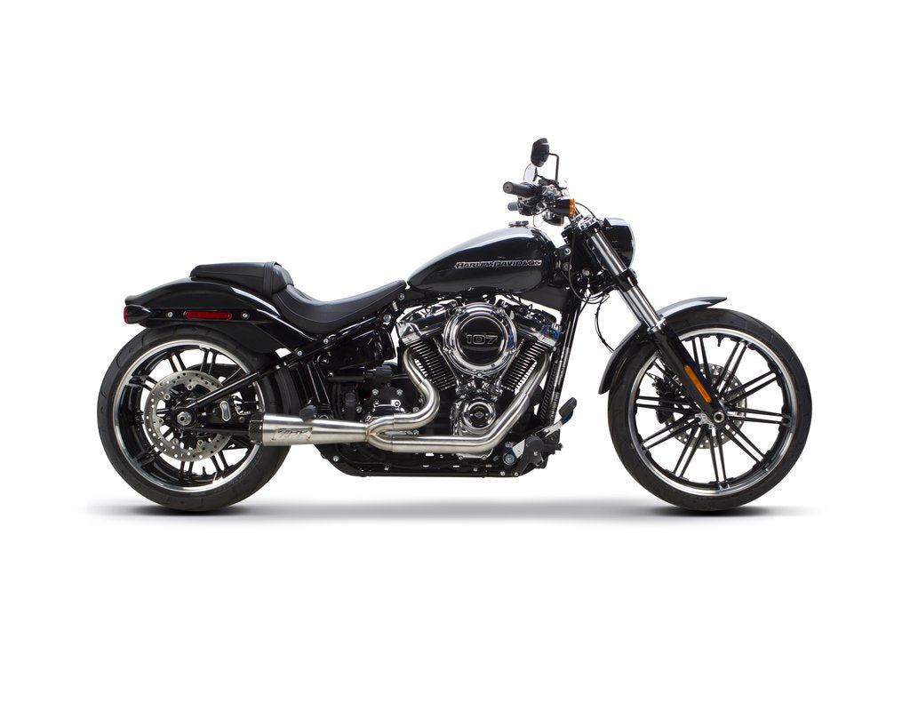 Two Brothers Racing Harley Davidson Softail Fatboy/Breakout (2018-2020) Comp-S 2-1 Stainless Steel - Team Dream Rides
