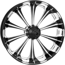 Load image into Gallery viewer, PERFORMANCE MACHINE (PM) Wheel - Revel - Platinum Cut - Dual Disc - 21 x 3.5 - 14+ FL One-Piece Aluminum Wheel — Revel - Team Dream Rides