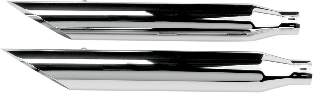 "KHROME WERKS Mufflers - Slashcut HP-Plus 3"" Slip-On Mufflers - Team Dream Rides"
