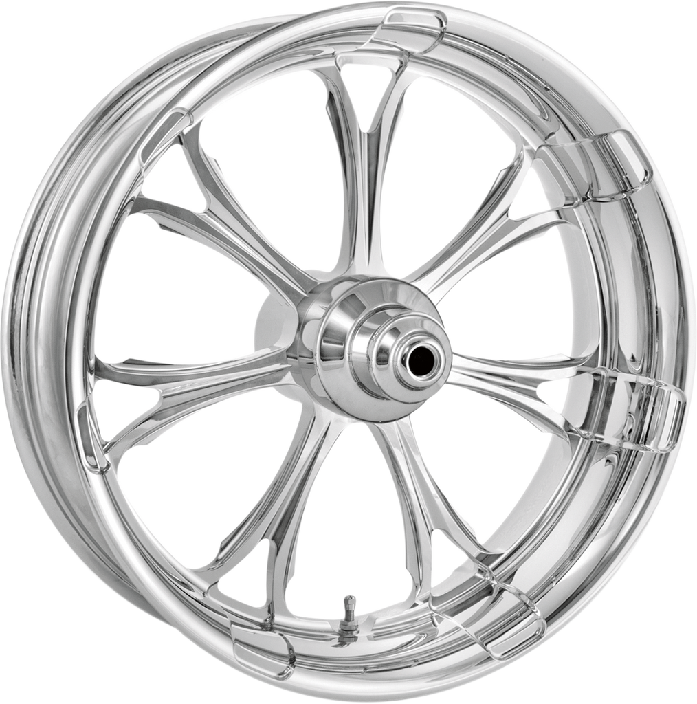 PERFORMANCE MACHINE (PM) Wheel - Paramount - Chrome - 21 x 3.5 - With ABS - 14+ FLD One-Piece Aluminum Wheel — Paramount - Team Dream Rides