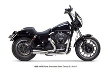 Load image into Gallery viewer, Two Brothers Racing Harley Davidson Dyna (1999-2005) Comp-S 2-1 Full System Ceramic Black - Team Dream Rides