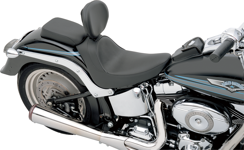 DRAG SPECIALTIES SEATS Solo Seat - Smooth - Driver Backrest Backrest Compatible Solo Seat — Smooth - Team Dream Rides