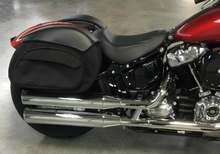 Load image into Gallery viewer, Leather Pros CB5500 Retro Series Softail Saddlebags - Team Dream Rides
