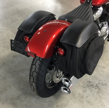 Load image into Gallery viewer, EZ-Mount Retro Series 2018+ Softail Saddlebags - Team Dream Rides