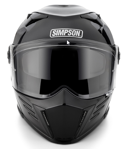 Simpson MOD Bandit Helmet - Team Dream Rides