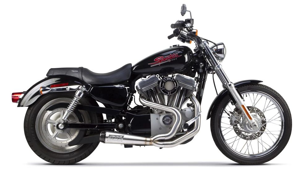 Two Brothers Racing Harley Davidson Sportster (2004-2013) Comp-S 2-1 Stainless Steel Full System - Team Dream Rides