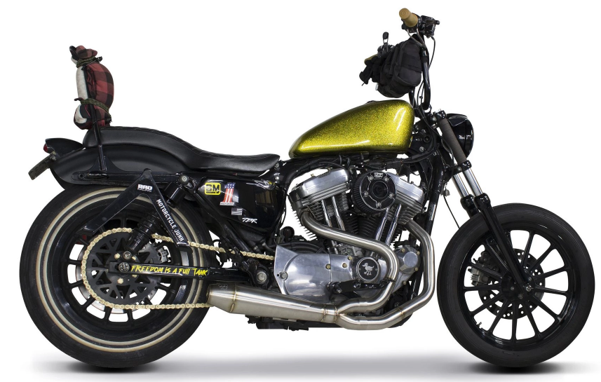 Two Brothers Racing Harley Davidson Sportster (2014-2020) Megaphone Gen II 2-1 Ceramic Black Full System - Team Dream Rides