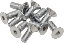 Load image into Gallery viewer, DRAG SPECIALTIES 10X32X3/4 Chrome Flat Head Countersunk Socket-Head Bolts
