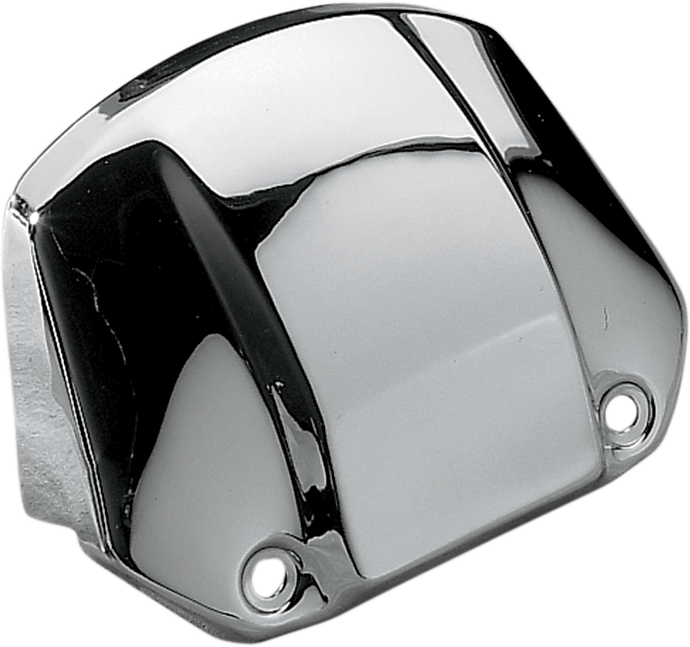 DRAG SPECIALTIES Headlight Visor without Hole - '75-'91 XL FX - Headlight Visor Covers