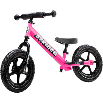 "STRIDER 12"" Sport Balance Bike - Pink - Team Dream Rides"