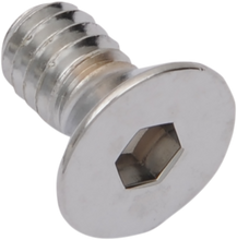 Load image into Gallery viewer, DRAG SPECIALTIES 1/4X20X5/8 Chrome Flat Head Countersunk Socket-Head Bolts
