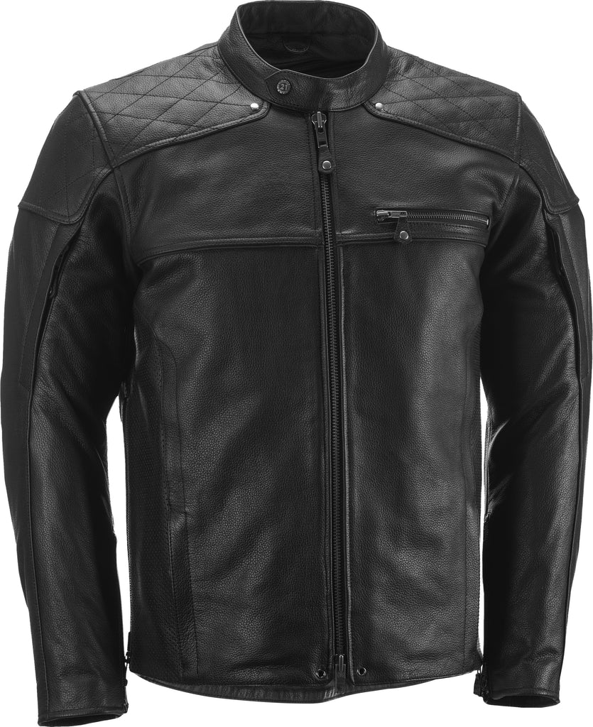 GASSER JACKET BLACK 4X - Team Dream Rides