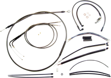 Load image into Gallery viewer, MAGNUM Black Pearl™ Control Cable Kit Black Pearl Designer Handlebar Installation Kit