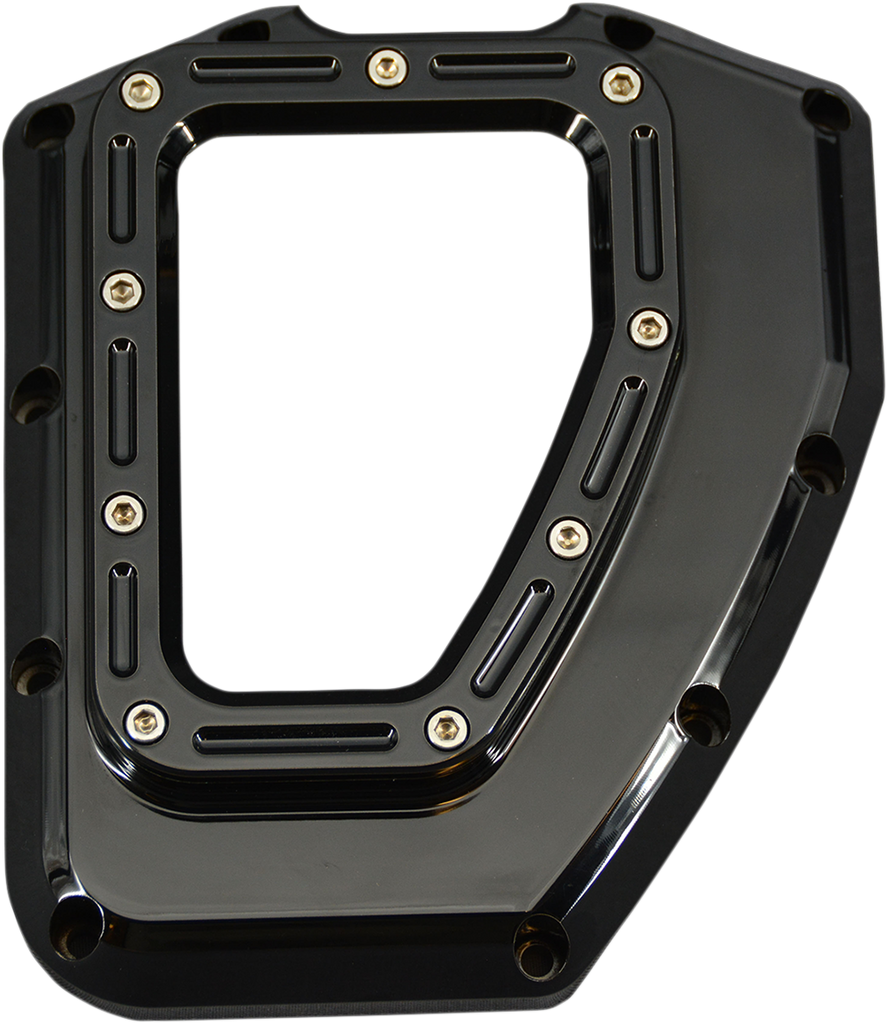 TRASK Assault Cam Cover - Black - Twin Cam Assault Series Cam Cover - Team Dream Rides