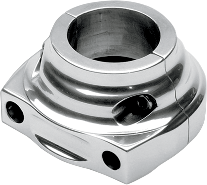 PERFORMANCE MACHINE (PM) Chrome Housing for Single Cable Throttle Housing