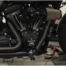 Load image into Gallery viewer, D&D 2006-2017 Harley Dyna Boarzilla 2:1 Full System Black - Team Dream Rides