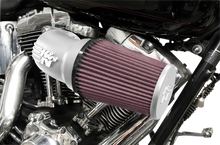 Load image into Gallery viewer, K & N Intake Kit Softail/Dyna Silver Exempt Aircharger & Performance Intake System