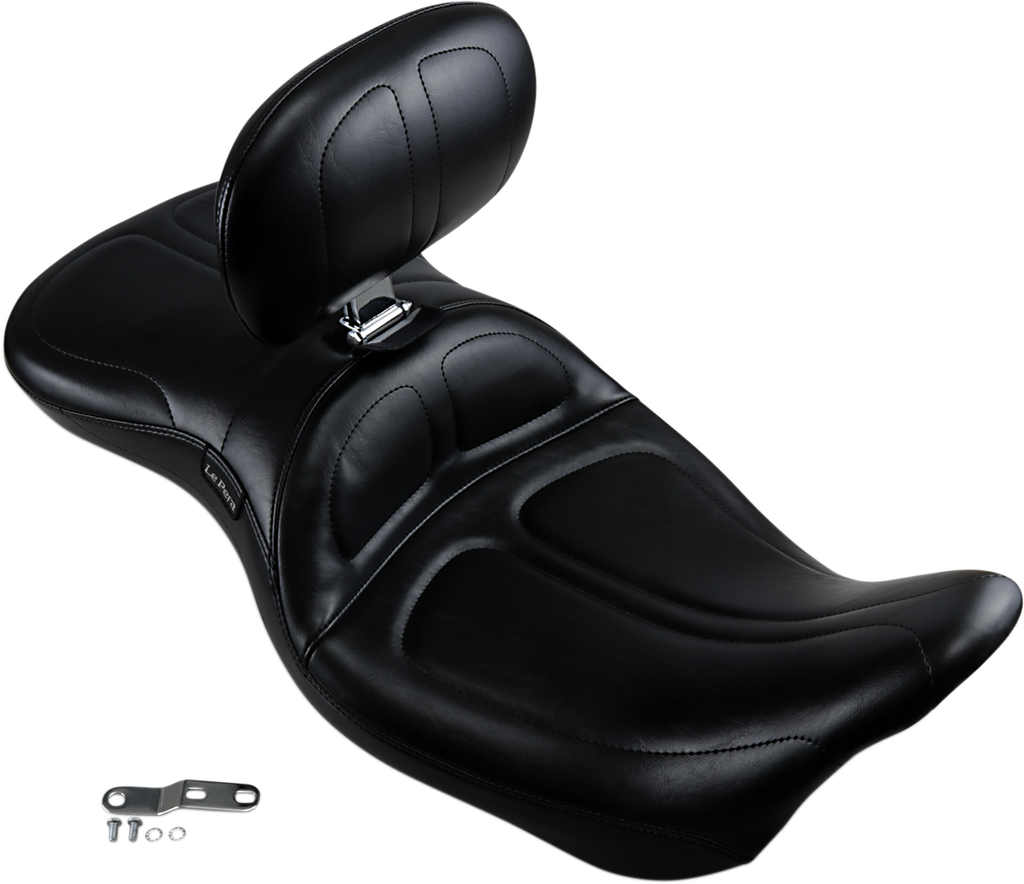 LE PERA Maverick Seat - Backrest - FLH '08+ Maverick 2-Up Seat - Team Dream Rides