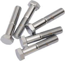 "Load image into Gallery viewer, DRAG SPECIALTIES 1/2X13X2.7"" Chrome Hex Head Replacement Hex-Head Bolts"