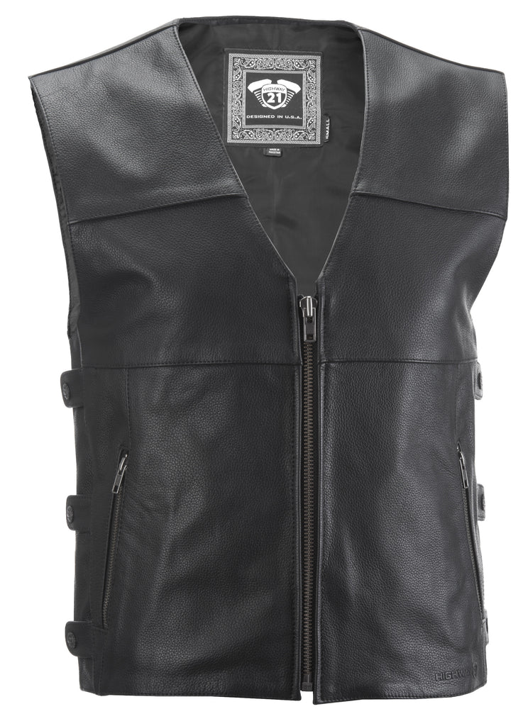 12 GAUGE VEST BLACK XL - Team Dream Rides