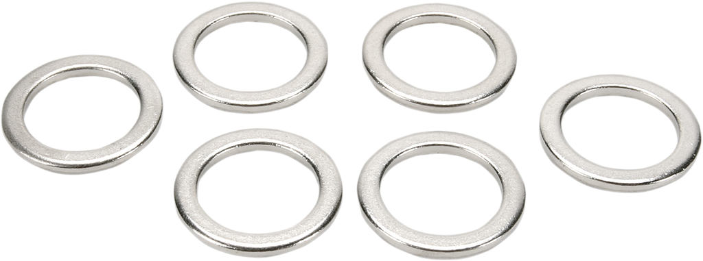 GOODRIDGE Aluminum Crush Washers - 12 mm Brake Line Adapter