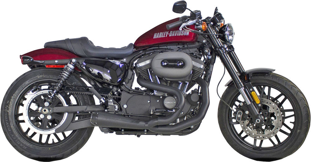 Two Brothers Racing Harley Davidson Sportster (2014-2020) Comp-S 2-1 Ceramic Black Full System - Team Dream Rides