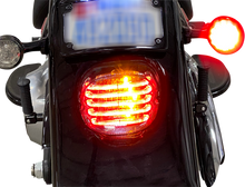 Load image into Gallery viewer, CUSTOM DYNAMICS Taillight/Turn Signal -  Bottom Window - Smoke Lens ProBEAM® Integrated Low Profile LED Taillights with Auxiliary Turn Signals - Team Dream Rides