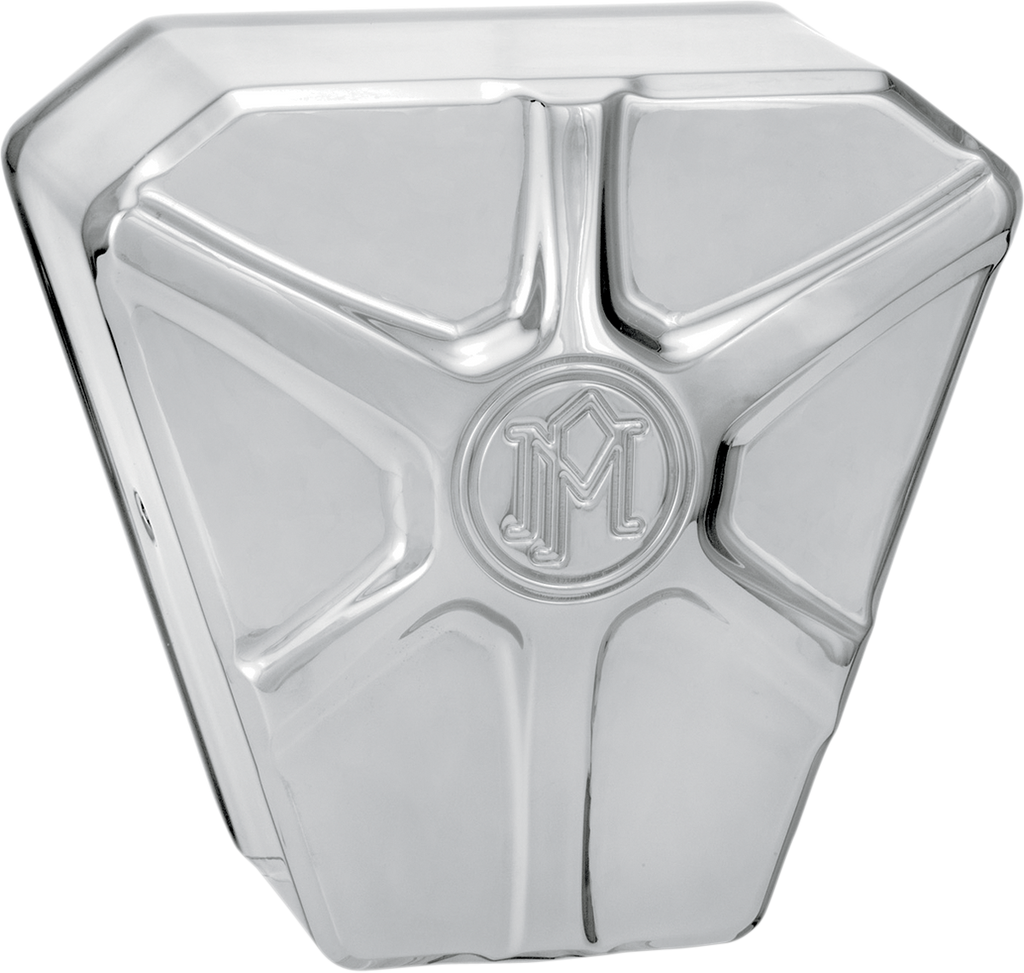 PERFORMANCE MACHINE (PM) Array Horn Cover - Chrome Array Horn Cover - Team Dream Rides