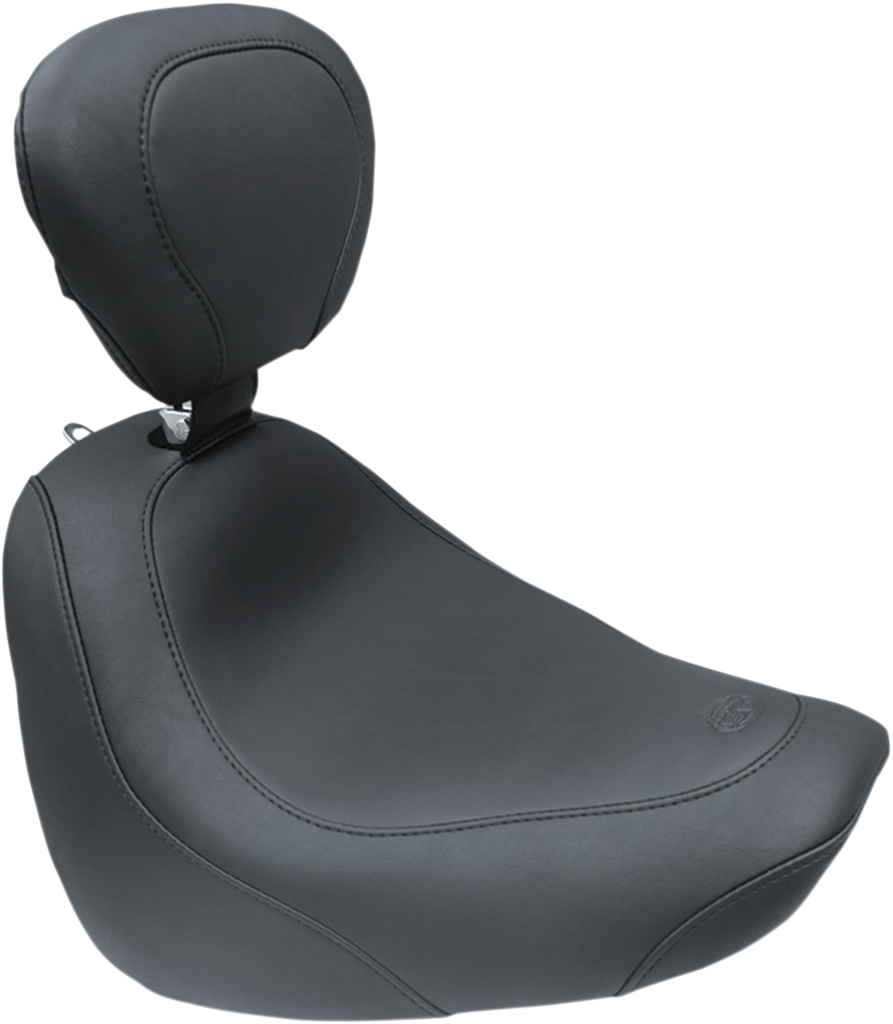 MUSTANG Wide Tripper Solo Seat - Driver Backrest Wide Tripper™ Solo Seat - Team Dream Rides