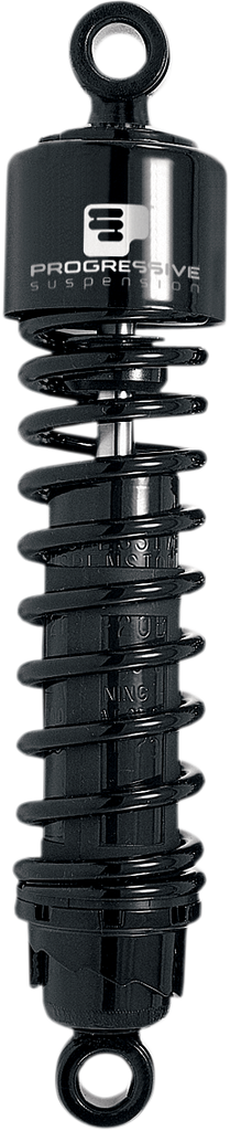 "PROGRESSIVE SUSPENSION 412 Series Shock - 12.5"" - Standard - Black - H-D 412 Series Shocks — Black"